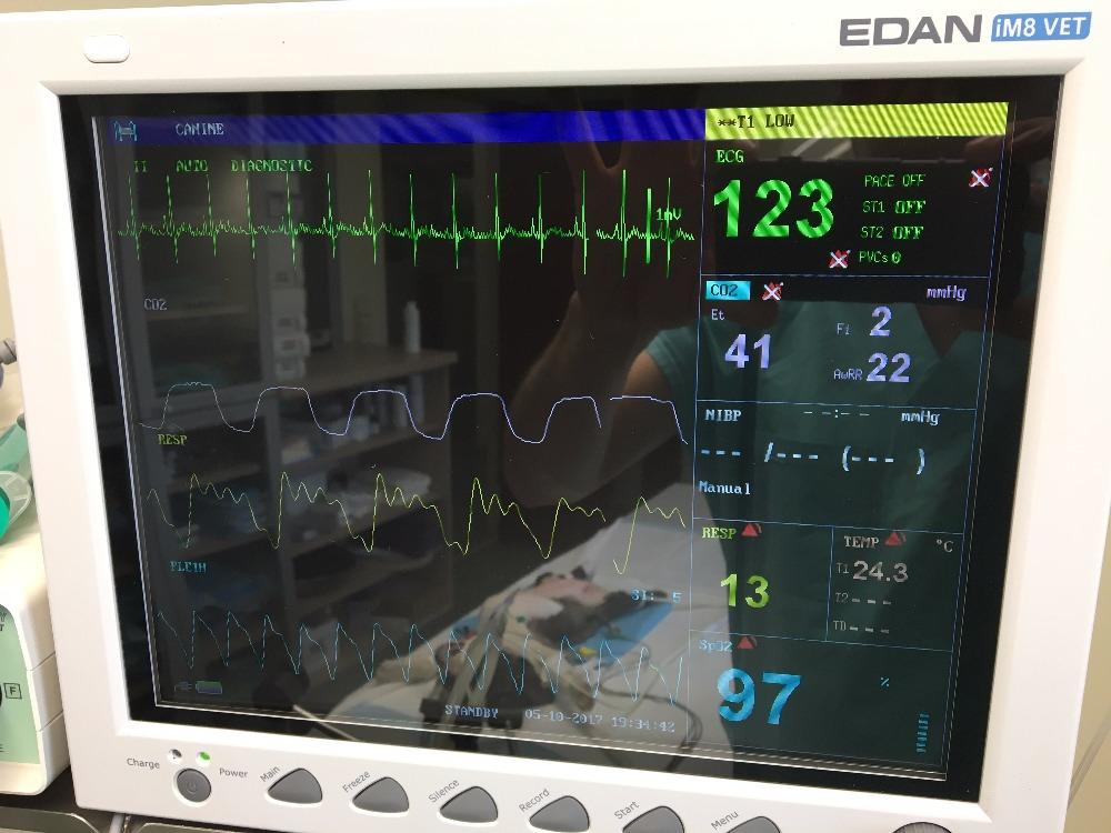 pohled do zákulisí- inhalační přístroj